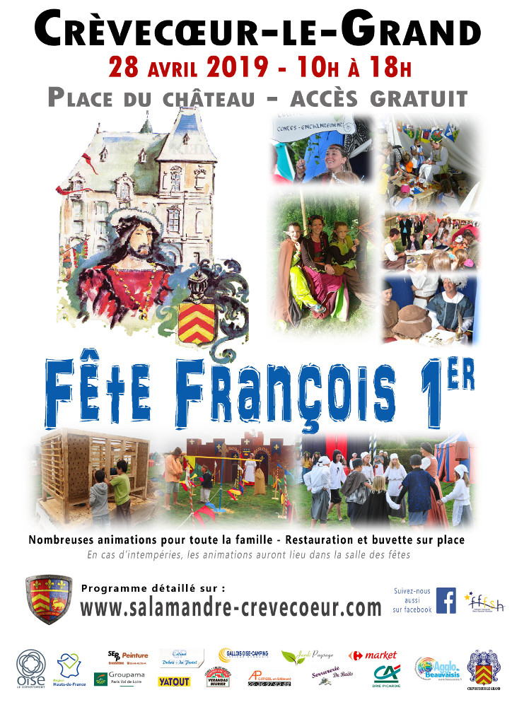 Affiche, crédit photo : Association François 1er