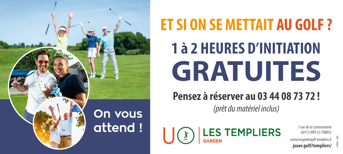 Initiation Golf des Templiers 2