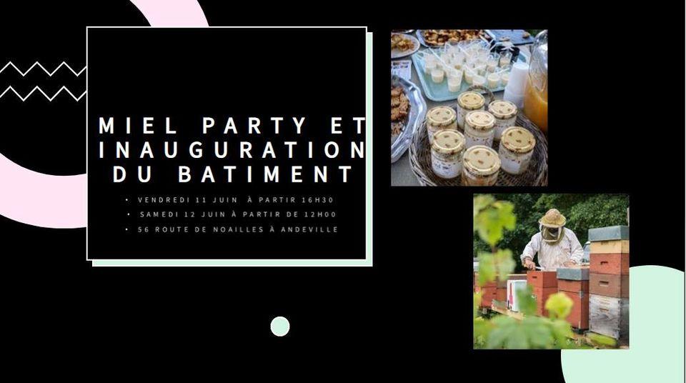 Miel Party 12 juin 2021, crédit photo : Rucher de la Clairière aux oiseaux
