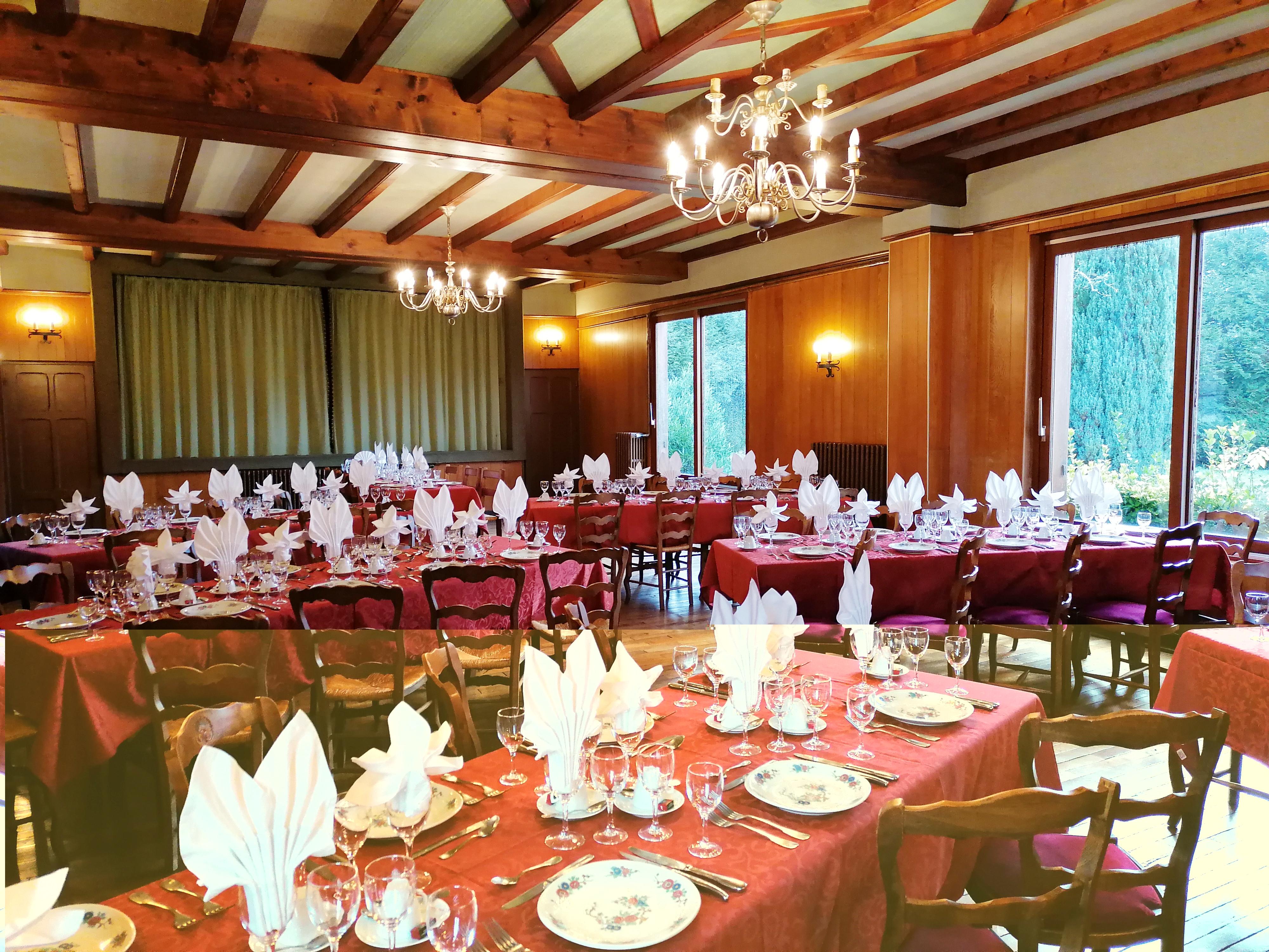 Salle de banquet, crédit photo :