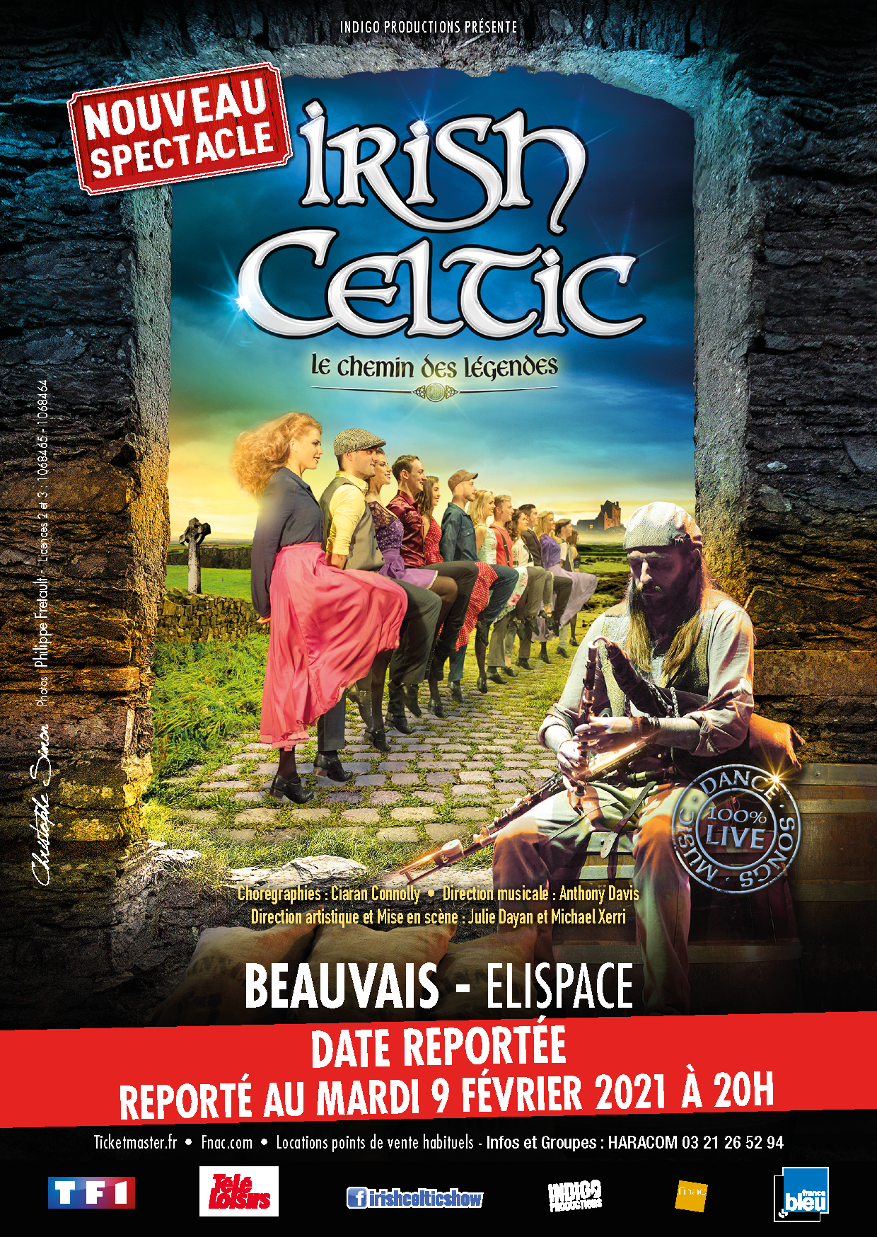 Irish Celtic Le Chemin des Légendes, crédit photo : Indigo Productions