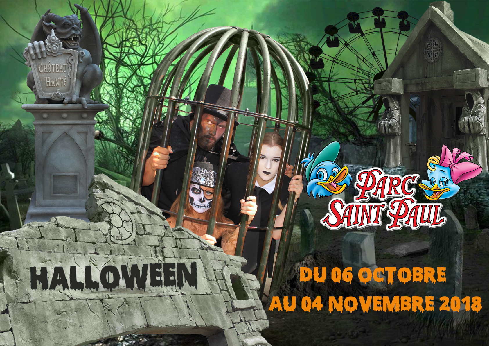 Halloween au PARC SAINT PAUL, crédit photo : OUI