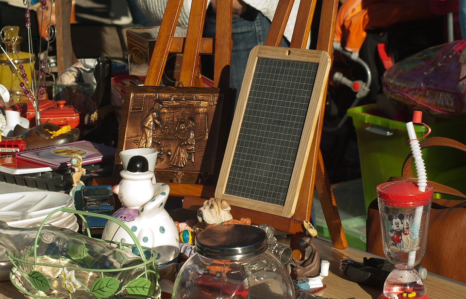 brocante, crédit photo :