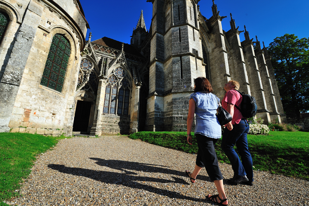 Abbaye_St_germer_de_fly, crédit photo : Oise Tourisme / Bruno Gouhoury